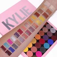lidschattenpaletten 28 farben großhandel-Neue Kylie Kosmetik Make-up-Paletten Magnetische Kylie Leere Große Pro-Palette 28 Farben