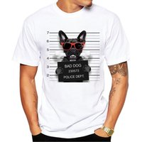 Wholesale dog 3d t shirt - 2018 Men Women Summer 3D Cute Cat Dog T-shirts Tops Tees Print Animal T shirt Tshirts
