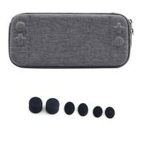 cajas de juegos nintendo al por mayor-Para Nintendo Switch Nintendos Switch Console Case Durable Nitendo Case para NS Switch Console Game Card Bolsa de almacenamiento y gorras