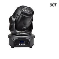 dj gobo venda por atacado-Venda quente 90 W LED Spot Moving Head Light alto brilho 90 W LED DJ Spot Light dmx gobo movendo cabeças