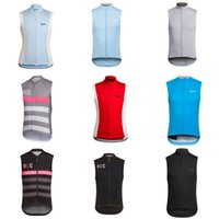 Wholesale Gold Vest Men - 2018 RAPHA team Cycling Sleeveless jersey vest summer Style Mens Pro team cycling jersey sleeveless c2124