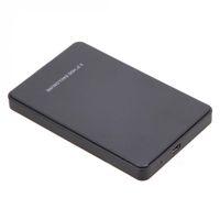 sdd sata sürücüsü toptan satış-Yeni Evrensel 2.5 Inç Harici SATA Sabit Disk Sürücüsü SSD Durumda 2 TB USB 2.0 HDD Muhafaza QJY99