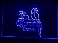 işıklar neon tabelası açık toptan satış-A108b-Corona Bira AÇIK Bar Pub Kulübü LED Neon Işık Burcu