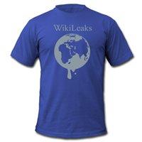 3de714359c0b T-shirt da uomo di Wikileaks Dripping Globe T-shirt da uomo T-shirt da uomo  di lusso a maniche corte T-shirt da uomo di marca