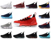 buy popular 6bef3 1f716 lbj shoes großhandel-2018 lebron 16 outdoor-schuhe James lbj 16 Outdoor- schuhe