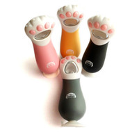 Wholesale Cute Glass Bottles - Urijk Kitchen Gadgets Creative Cat Paw Bottle Opener Cute Bottle Tools With Collection Paw Glass Wine Opener Easy Grip Safe