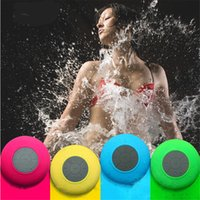 Wholesale bts bluetooth mp3 player for sale - Portable Waterproof Wireless Bluetooth Speaker Shower Car Handsfree Receive Call Mini Subwoofer Suction Phone IPX4 Speakers Color BTS