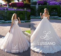 Wholesale scoop neck corset wedding dresses for sale - Group buy Stunning Corset Backless A Line Wedding Dresses Custom Made Appliques Cap Sleeves Sheer Bridal Gowns Court Train