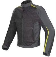 malla de montar chaquetas de moto al por mayor-Nueva llegada 3 colores Dain Hydra Flux D-dry Chaqueta de moto Summer Mesh Racing Moto Caballero Chaqueta de equitación para hombres