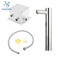 Wholesale hotel basin - Automatic Infrared Sensor Induction Faucet Modern Basin Sink Touchless Handsfree Tap for Home Hotels Public Buildings
