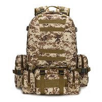 Wholesale 75l Outdoor Bag - MOLLE Tactical Backpacks Gear Waterproof 1000D Assault Outdoor Travel Hiking Sport amy Rucksacks Hunting Multi-function Bag free shopping.