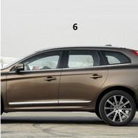 ingrosso acciaio inossidabile-accessori per auto finiture cromate finestra modificata modanature paillettes parti esterne acciaio inox PER Volvo XC60