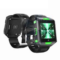 kinder wifi großhandel-4G LTE Smart Uhr Smartphone MTK6737 1 GB 8 GB Nano-SIM Android 6.0 2.0MP Kamera WiFi Herzfrequenz Bold Druck IP67 Wasserdichte Smartwatch