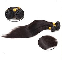 Wholesale discount hair weave extensions for sale - Group buy App Discount Malaysian Human Hair Weave Inchs Pure Color Straight Hair Extensions G Virgin Unprocessed Hair Weaving