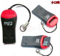 lector usb m2 al por mayor-Lector de tarjetas USB TF USB 2.0 Micro SD T-Flash TF M2 Lector de tarjetas de memoria Adaptador de alta velocidad Micro SD Card