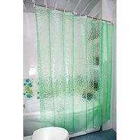 weiße seidenvorhänge großhandel-Verdickung 15 Silk transparenter Wasser-Würfel-EVA-Duschvorhang des Verschiffen-3D umweltsmäßig wasserdicht und Schimmel blau, grün, weiß