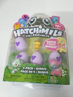 Wholesale Eggs For Hatching - Hatching Eggs Interactive Cute Fantastic Growing Hatchimils Chrismas Gifts for Kids, Smart Toys for Children Education 4 PCS