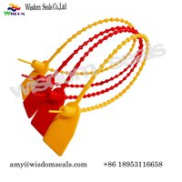 Wholesale lock seal plastic bags resale online - fire extinguisher tamper evident Plastic Seal container lock tie Security Seals bags courier bags containers door money bags cash bag