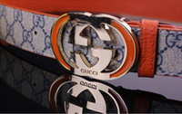 Wholesale Fancy Belts - 100% Cowhide Genuine Leather Belts for Men Brand Strap Male Pin Buckle Fancy Vintage Cowboy Jeans Cintos Freeshipping