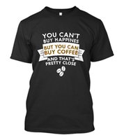 taille du café achat en gros de-Amoureux du café de la mode, vous ne pouvez pas acheter le bonheur, mais vous pouvez acheter du café hommes taille de tee