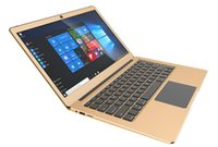 laptops intel inteligência de 14 polegadas venda por atacado-Golden notebook Apollo 14 polegada Versão Windows10 Intel Celeron N3450 Quad Core 1.1 GHz Bluetooth 6 GB DDR3 64 GB EMMC mini Laptop