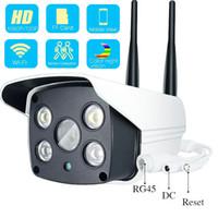 cámara lux al por mayor-1080P 720P Cámara Wifi IP para exteriores Ultral Iluminación baja 0.0001 Lux FULL Color Starlight WDR Cámara de vigilancia Audio bidireccional