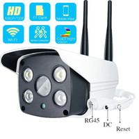 Wholesale lux cameras resale online - 1080P P Outdoor Wifi IP Camera Ultral Low Illumination Lux FULL Color Starlight WDR Surveillance Camera Two Way Audio