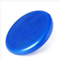 Wholesale waist twisting disc - Blue Twist Balance Disc Inflatable Foot Massage Waist Wriggling Board Round Bearing Force Fitness Exercise Pad Popular 21 9yg B