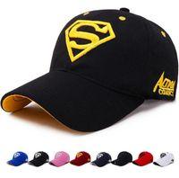e04d3b52d40 100% Cotton Superman Baseball Caps Travis Scott Unisex Astroworld Dad Hat  Cap High Quality Embroidery Man Women Summer Hat Free Shipping