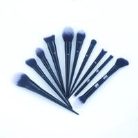 concealer contour face powder venda por atacado-KVDBEAUTY # 10 Edge Foundation # 20 Pó # 25 Pó de Precisão # 40 Corretivo # Rosto Olho Contorno Escovas-Beleza Pincéis De Maquiagem DHL Livre