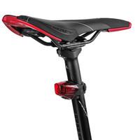 ingrosso luci del freno posteriore della bici-Batteria al litio 160mAh TWOOC LED Cyling Bicicletta Luce Posteriore Intelligente Freno USB Moto Bicicletta Impermeabile TailightBIKIGHT Bike Fanale Posteriore U