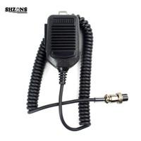 Wholesale icom handhelds - 8-pin Handheld Remote Control Microphone for ICOM HM36 IC-718 IC-775 IC-7200 IC-7600 IC-25 Mobile Radio Megaphone Voice Changer