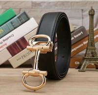 ceinture chaude pour hommes achat en gros de-2018 designer ceintures hommes de haute qualité en cuir de luxe ceinture hommes femmes chaud boucle ceinture homme mens ceintures de luxe