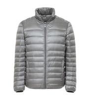 ingrosso sehun kris luhan-2018 Nuovi uomini giacca invernale ultra leggero 80% piumino d'anatra bianco casual cappotto invernale portatile per uomo taglie forti parka (B23