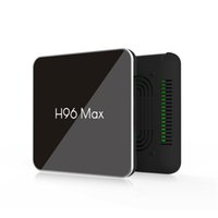 Wholesale 10pcs H96 MAX X2 Android TV BOX Amlogic S905X2 DDR4 GB GB GB Dual Wifi Bluetooth K IPTV Smart tv box