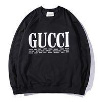 женские свитера оптовых-Осень и зима новый женский бренд свитер письма печатные с длинными рукавами шею случайные спортивный свитер