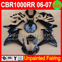 Wholesale unpainted honda fairings for sale - Group buy 8Gifts Unpainted Full Fairing Kit For HONDA CBR1000RR CBR RR CBR1000 RR CBR RR Fairings Bodywork Body