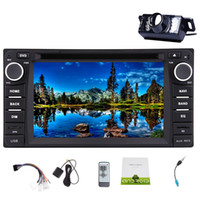 Wholesale toyota backup cameras - Backup Camera+In Dash Car Stereo for TOYOTA Corolla EX(2008~2013)Android 6.0 Quad Core Double Din Car DVD Player 6.2'' Capacitive