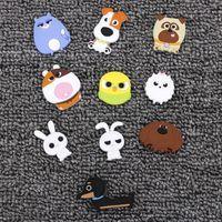 10 Pcs lot Pop Cartoon Kids Kawaii Animals Pets Cat Rabbit Dog Home  Decorative Souvenir Small Fridge Magnets Sticker 7a88fe408d70