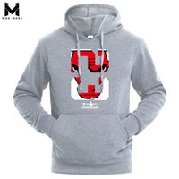 Wholesale Outlet Clothing - 2018 Brand New Men Hoodies Sweatshirt Solid Color Print Trend Cotton Pullover Coat Mens Clothes Hip-Hop Male Factory Outlet
