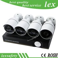 Wholesale security camera onvif poe for sale - Group buy P2P Cloud CCTV System IR Outdoor Night Vision Video camera POE NVR Kit p IP Camera P2P Video Onvif Security Surveillance Set