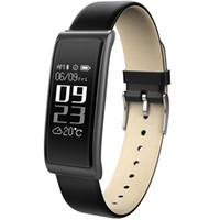 handgelenk-monitor armband großhandel-2018 neue c9 smart armbanduhr blutdruck sauerstoff monitor herzfrequenz armband armband smartband wasserdicht für ios android phone