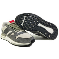 Wholesale nice rubber shoes for sale - Group buy Original ZX500 trainer Sneakers running shoes cheap nice sports shoes for women men black white high quality