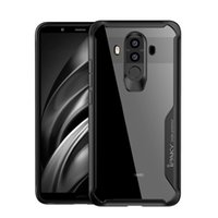Wholesale Pro Mates - Wholesale iPaky Huawei Mate 10 Pro Case Transparent Back Cover Mate10 Pro PC+TPU Hard Soft Cases Drop-proof With Retail Package In Stock
