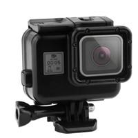 pro schwarze kamera großhandel-Unterwassergehäuse für GoPro Hero 6 5 Black Action Camera Unterwassergehäuse Touchscreen-Halterung für Go Pro 6 5 Schutzbox-Zubehör