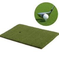 tapetes interiores al por mayor-Entrenamiento de golf 25x37 cm Golpe de Golf Golf Mat Mat Alfombra Floor Indoor Practice Equipment Ayudas Deportes al aire libre