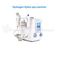 máquina de iones negativos al por mayor-Máquina hidrolizadora de agua con hidrógeno hidrafacial 3 en 1 Hydro Dermabrasion BIO Lifting Ion Negative Skin Cuidado Facial Rejuvenecimiento