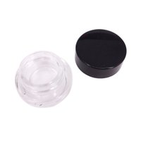 Wholesale wholesale container lip for sale - 2g ml clear glass jar container with plastic lid For Lip Balms Creams wax Oils Salves Lotions Make Up Cosmetics Nail Accessorie