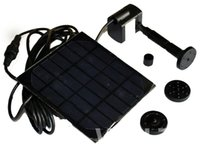 Wholesale Solar Water Fountain Pumps - 1pc lot Solar Panel Power Submersible Fountain Pond Water Pump