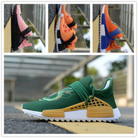 Wholesale race collection - 2018 Hot Sale Pharrell Williams Human Race Shoes Hu Trail Collection Wholesale Drop Shipping Size Eur 36-45